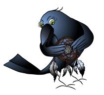creative raven sketch 17